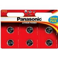 Panasonic CR2032 6ks v blistru - Knoflíkové baterie