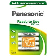 Panasonic Ready to Use AAA HHR-4MVE/4BC 750 mAh 3+1 ZDARMA - Nabíjecí baterie