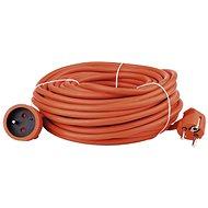 Prodlužovací kabel Emos Prodlužovací kabel 20m, oranžový - Prodlužovací kabel