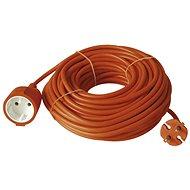 Emos Prodlužovací dvoužílový kabel  20m, oranžový - Napájecí kabel