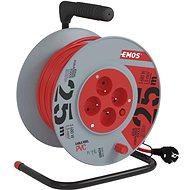 Prodlužovací kabel Emos Prodlužovací kabel na bubnu- 4 zásuvky 25m - Prodlužovací kabel