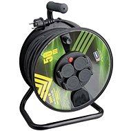 Emos Gumový prodlužovací kabel na bubnu - 4 zásuvky 50m - Napájecí kabel