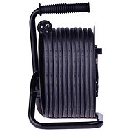 EMOS Gumový prodlužovací kabel na bubnu – 4 zásuvky, 25m, 2,5mm2