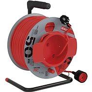 Prodlužovací kabel EMOS PVC prodlužovací kabel na bubnu – spojka, 50m, 1,5mm2 - Prodlužovací kabel