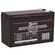 EMOS Bezúdržbový olověný akumulátor 12 V/7,2 Ah, faston 4,7 mm - Nabíjecí baterie