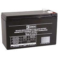 EMOS Bezúdržbový olověný akumulátor 12 V/7,2 Ah, faston 6,3 mm - Nabíjecí baterie