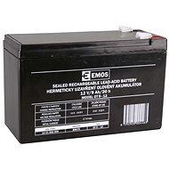 EMOS Bezúdržbový olověný akumulátor 12 V/9 Ah, faston 6,3 mm - Nabíjecí baterie