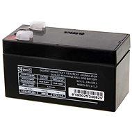 EMOS Bezúdržbový olověný akumulátor 12 V/1,3 Ah, faston 4,7 mm - Nabíjecí baterie