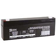 EMOS Bezúdržbový olověný akumulátor 12 V/2,2 Ah, faston 4,7 mm - Nabíjecí baterie