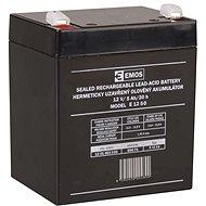 EMOS Bezúdržbový olověný akumulátor 12 V/5Ah, faston 6,3 mm - Nabíjecí baterie
