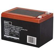 EMOS Bezúdržbový trakční olověný akumulátor 12 V/15 Ah, faston 6,3 mm