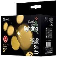 Emos 200LED Xmas CLAS TIMER NET - Vánoční osvětlení