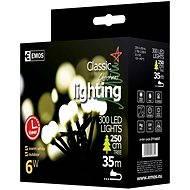 EMOS LED vánoční cherry řetěz – kuličky, 30m, teplá bílá, časovač - Vánoční řetěz