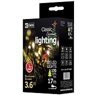 Emos 120 LED Xmas CLAS TIMER  - Vánoční osvětlení