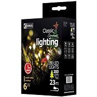 EMOS LED vánoční řetěz, 18m, teplá bílá, časovač - Dekorativní osvětlení
