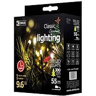 EMOS LED Christmas Chain, 50m, Warm White, Timer