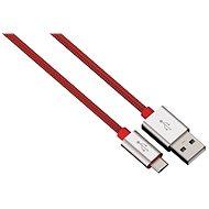 Hama Color Line USB A - USB micro B, 1m, červený - Datový kabel