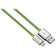 Hama Color Line USB A - USB micro B, 1m, zelený - Datový kabel