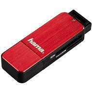 Hama USB 3.0 červená - Čtečka karet