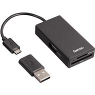Hama USB 2.0 OTG - Čtečka karet