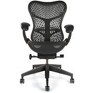 Herman Miller Mirra s opěrkou TriFlex, pro tvrdé podlahy - černá - Kancelářská židle