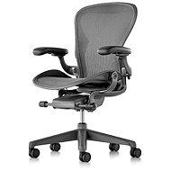Herman Miller Aeron, velikost C - černá - Kancelářská židle
