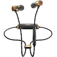 House of Marley Uplift 2 Wireless - brass - Sluchátka s mikrofonem