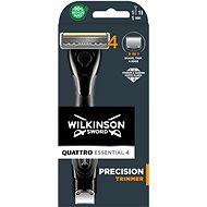 WILKINSON Quattro Titanium Precision + 1 náhradní hlavice - Holicí strojek
