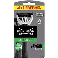 WILKINSON Xtreme3 Black (3+1 ks) - Holítka