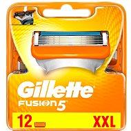 GILLETTE Fusion 12 ks - Pánské náhradní hlavice