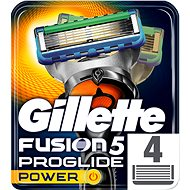 GILLETTE Fusion ProGlide Power 4 pieces of spare heads - Men's Shaver Replacement Heads