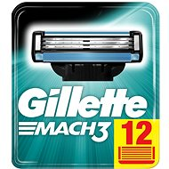 GILLETTE Mach3 12pc, spare heads - Men's Shaver Replacement Heads