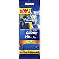 GILLETTE Blue II Plus 10+4 ks - Holítka