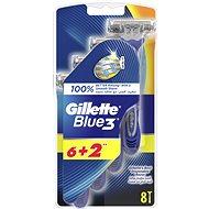 GILLETTE Blue3 6+2 pcs - Razors