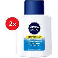 NIVEA Men Balzám po holení 2v1 Active Energy 2× 100 ml