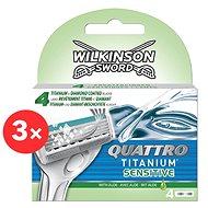 WILKINSON Quattro Titanium Sensitive 3 × 4 ks
