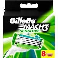 GILLETTE Mach3 Sensitive 8 ks - Pánské náhradní hlavice