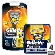 GILLETTE Fusion Proshield strojek + GILLETTE Fusion Proshield 4 ks