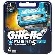 GILLETTE Fusion Proshield Chill 4 ks - Pánské náhradní hlavice