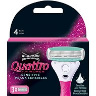 WILKINSON Quattro for Women (3-pack) - Women's Replacement Shaving Heads