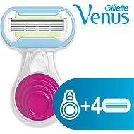 GILLETTE Venus Snap strojek + hlavice 3 ks - Dámský holicí strojek