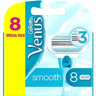GILLETTE Venus Smooth Classic 8 pcs - Women's Replacement Shaving Heads