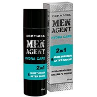 DERMACOL Men Agent Moisturizing Gel-Cream and Aftershave Balm  50 ml - Balzám po holení