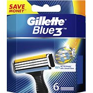 GILLETTE Blue3 6 ks - Pánské náhradní hlavice