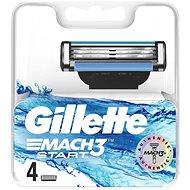GILLETTE Mach3 Start 4 ks  - Pánské náhradní hlavice