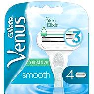 GILLETTE Venus Sensitive Smooth 4 ks - Dámské náhradní hlavice