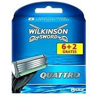 WILKINSON Quattro 6 + 2 ks - Pánské náhradní hlavice