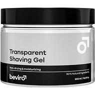 Gel na holení BEVIRO Transparent Shaving Gel 500 ml - Gel na holení