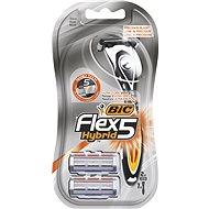 BIC Flex5 Hybrid + hlavice 2 ks - Holicí strojek