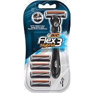 BIC Flex3 Hybrid + hlavice 4 ks